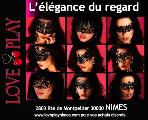 l'élégance des masques Nimes