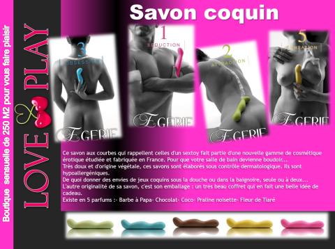 savon coquin sexy