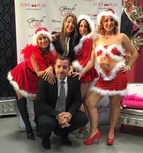 Bonjour toute l équipe de love&play vous souhaite un bon réveillon de Noël et vous remercie encore de vos achats dans notre boutique ! À bientôt et bonne fête de fin d'année !