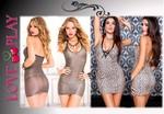 robe léopard glamour